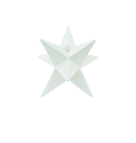 Sompex KRISMASI Stern Stabkerzenhalter, Keramik - in verschiedenen Farben