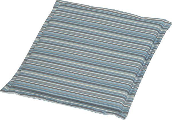 Stern Universal Sitzkissen ca. 44x44x2 cm 100% Polyester Dessin Streifen aqua