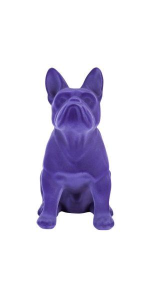 Sompex Farba Hund Figur, violett