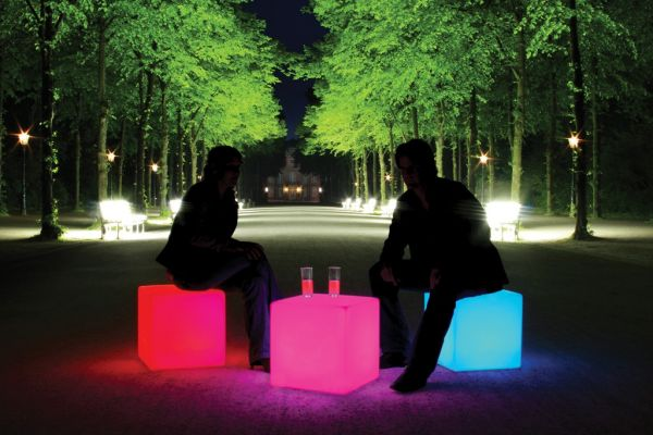 Moree Cube LED Accu Outdoor Lithium