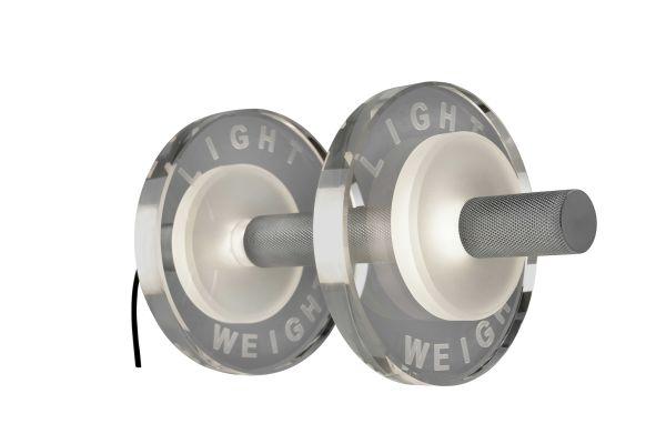 Sompex Tischleuchte Light weight | schwarz & silber | LED | Aluminium