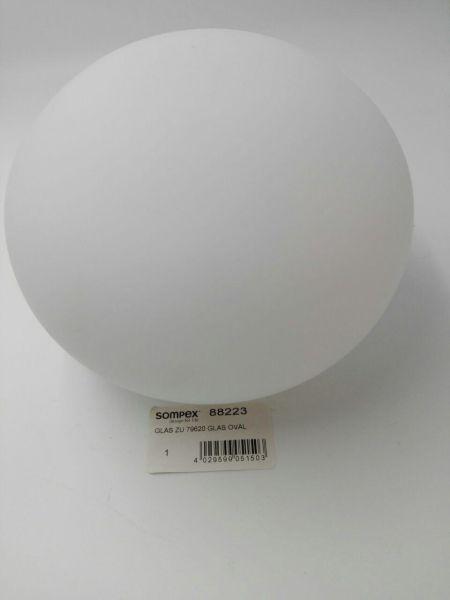 Ersatzteil Glas zu Sompex Tischleuchte Oval 18cm Art-Nr. 79620