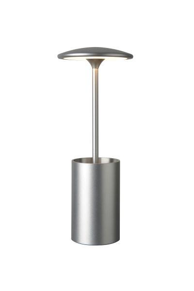 Sompex Tischleuchte Pott Silber