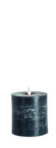 Sompex FLAME LED Echtwachs LED Kerze, anthrazit / flach