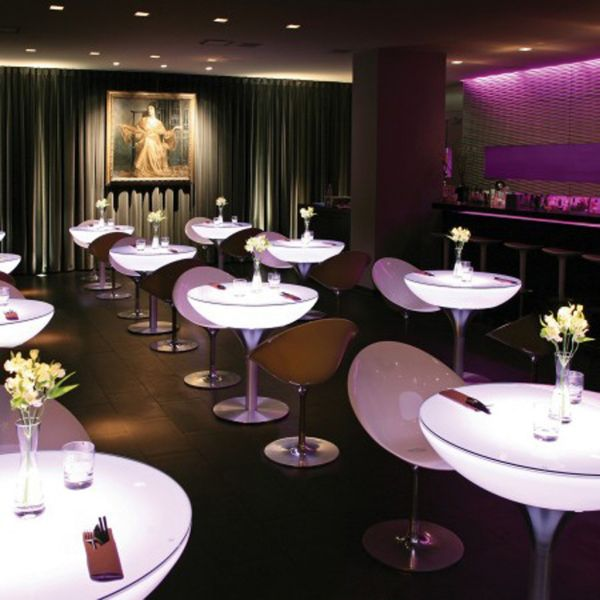 Moree Lounge Table LED Pro Accu 75