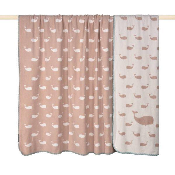 PAD WHALE Decke pink - in verschiedenen Größen