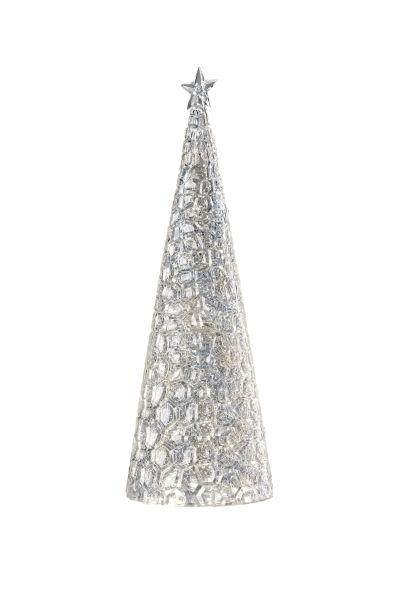 Sompex Weihnachtsbaum Tischleuchte Glamor | Batteriebetrieben | 44cm