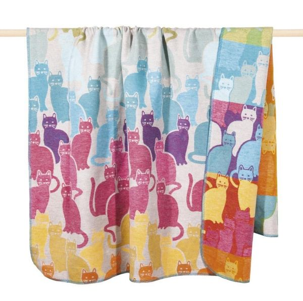 pad CATS Wolldecke - 150 x 200cm - Multicolor