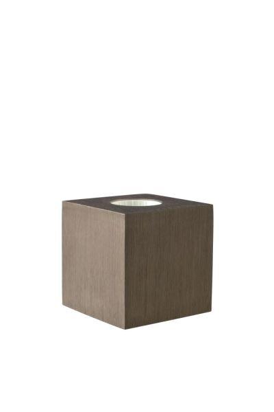 Sompex Tischleuchte Cubic, Coffee