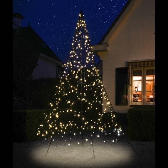 FAIRYBELL LED Weihnachtsbaum / LED Lichterkette für Fahnenmast, in verschiedenen Größen