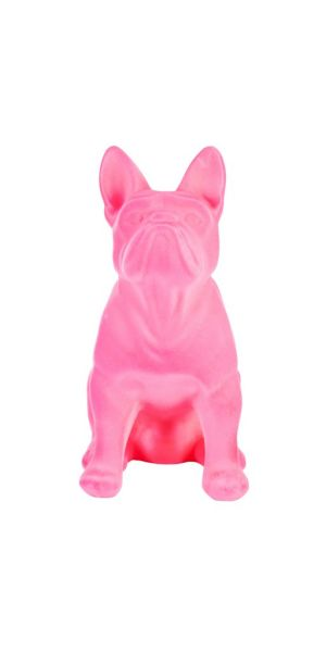 Sompex Farba Hund Figur, pink