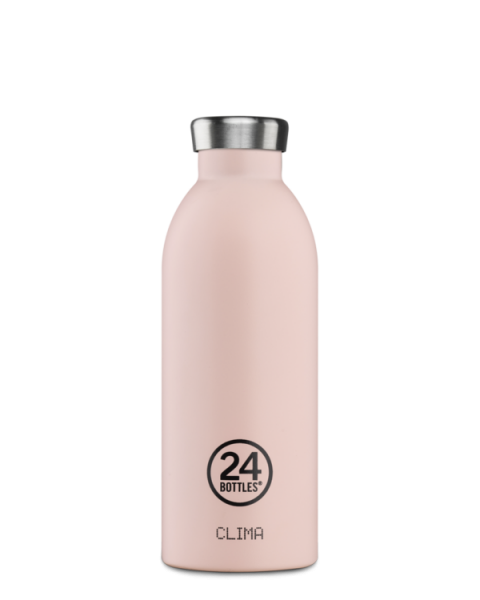 24Bottles - Trinkflasche / CLIMA earth collection DUSTY PINK