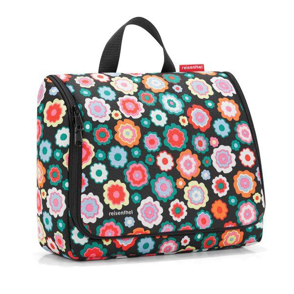 reisenthel Toiletbag XL / Kulturbeutel / Kosmetik / Traveling happy flowers