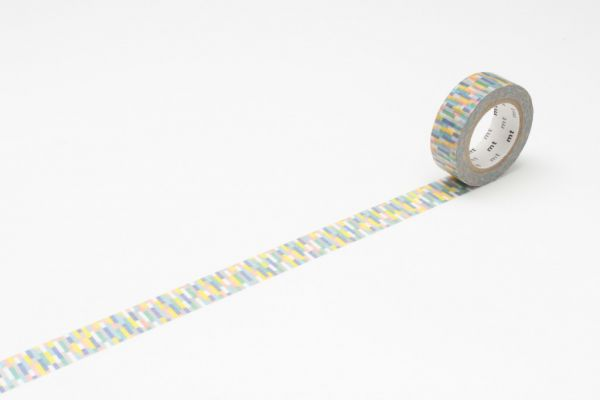 Masking-Tape single, block blue