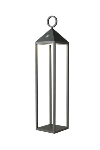 Sompex Cargo Outdoorlaterne anthrazit mit LED Beleuchtung | Akkubetrieben - in verschiedenen Größen