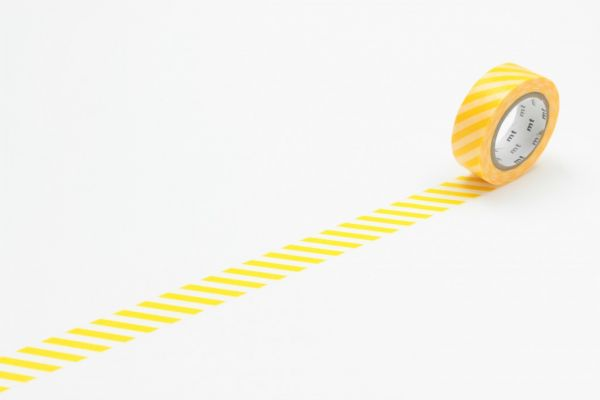 Masking-Tape single, stripe yellow