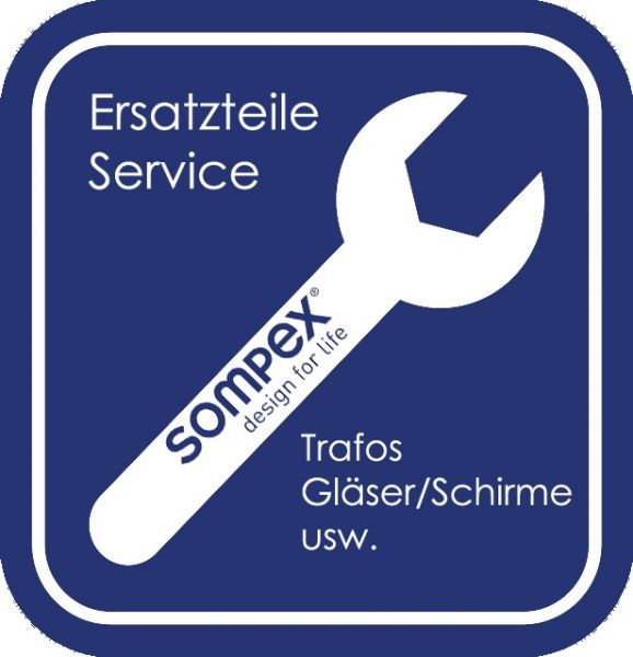 Ersatzteil Schirm zu Villeroy & Boch Tischleuchte Prag 96360 weiß