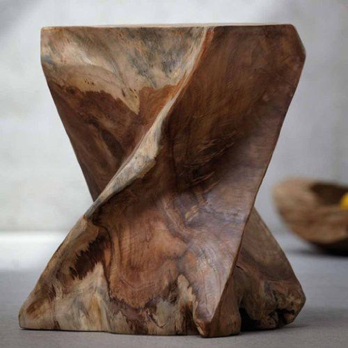 Jan Kurtz Hocker ZIG ZAG Teak