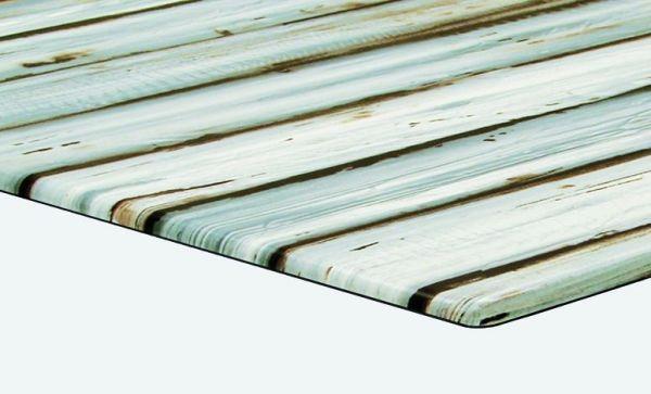 Stern FormPress Tischplatte S 70x70 cm Dekor Maritimo Pine