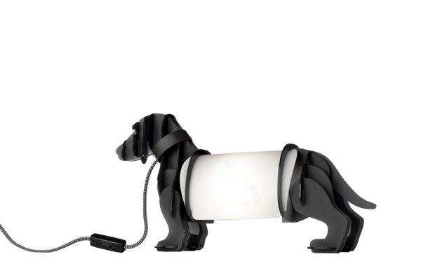 SOMPEX Tischleuchte Eldog, grau