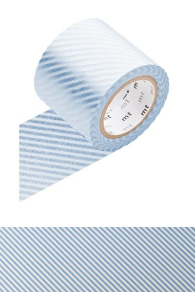 Masking-Tape Casa, stripe light blue