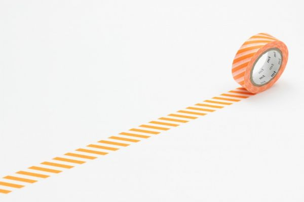 Masking-Tape single, stripe orange