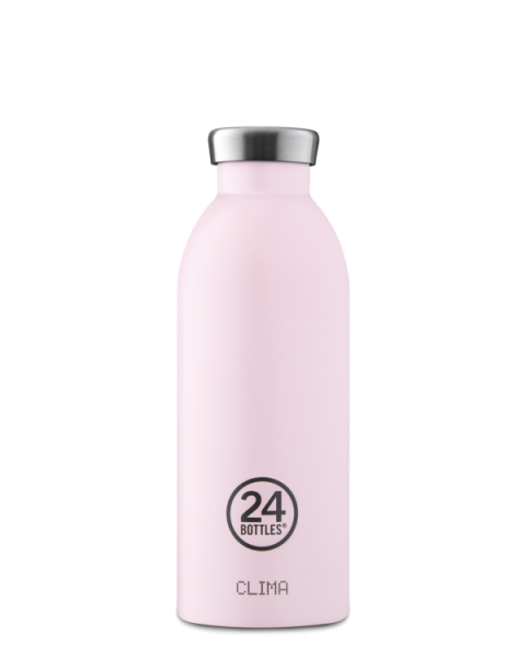 24Bottles - Trinkflasche / CLIMA pastel collection CANDY PINK