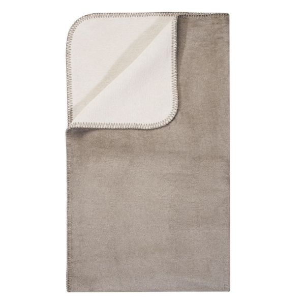 PAD Wolldecke HOBART - 100 x 150cm - taupe
