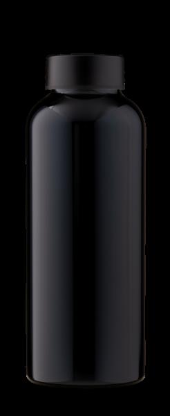 MamaWata Edelstahl Trinkflasche 500ml BLACK Single Wall