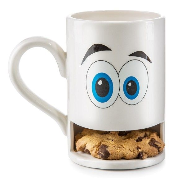 Donkey Mug Monster White