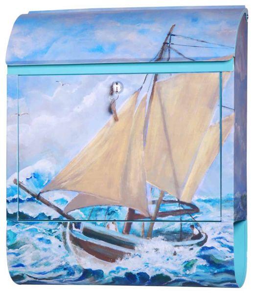 Briefkasten Segelboot