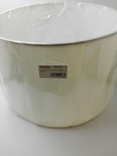 Ersatzteil Schirm/ Glas zu Sompex Stehleuchte Drum creme, 79473