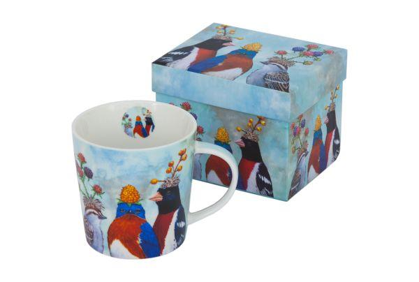 PPD The Berry Festival Tasse/ Kaffeebecher mit passender rechteckiger Geschenkdose