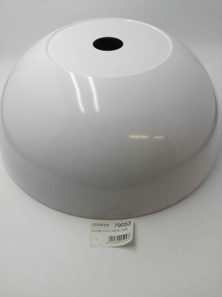 Ersatzteil Schirm/Glas zu Sompex Stehleuchte XXL, weiß 79055