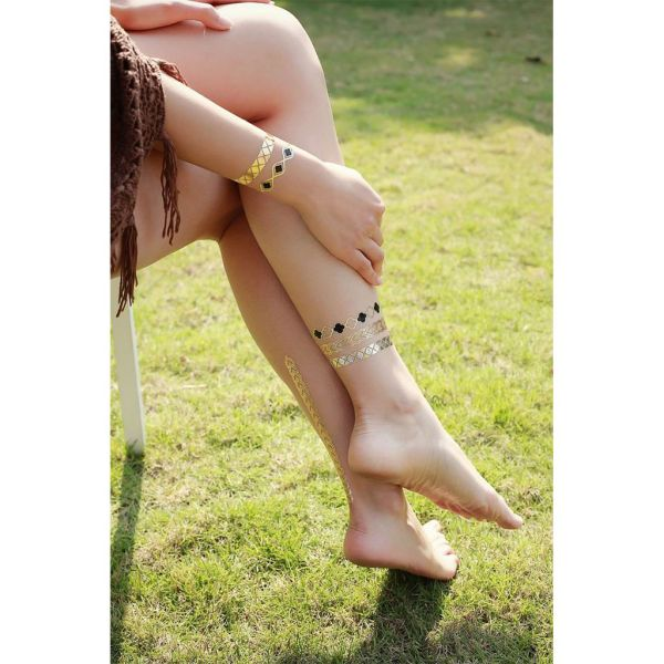 TATU Temporäre Metallic Tattoos - TATU Jewelry - beauty anytime