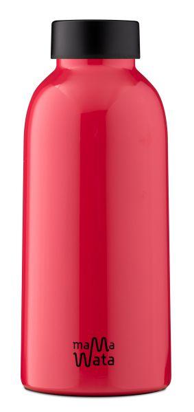 MamaWata Edelstahl Trinkflasche RED