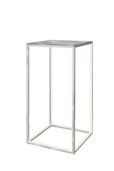 Sompex LED Tisch Delux mit Glasplatte