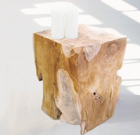 Jan Kurtz Hocker BLOCK Teak