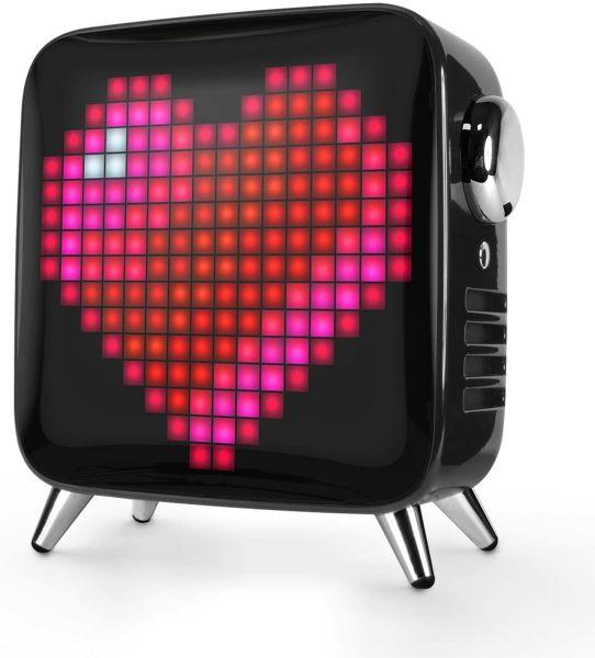 Divoom Tivoo Max 2.1 LED Bluetooth Lautsprecher mit Mehrfarbiger LED Anzeige,10000mAh 40W Musikbox,