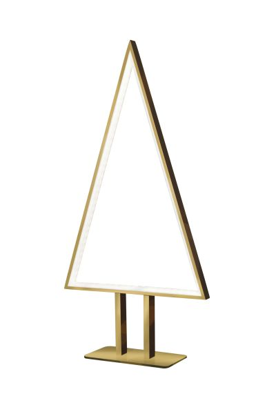 Sompex LED Tisch- / Bodenleuchte Pine - Gold - 50cm