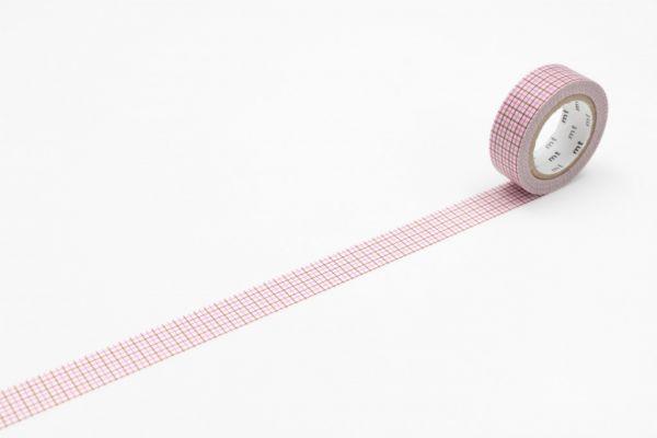 Masking-Tape single, hougan pink x brown