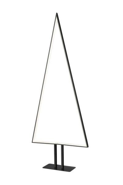 Sompex Designleuchte / LED Weihnachtsbaum Stehleuchte Pine, schwarz, Höhe 100cm