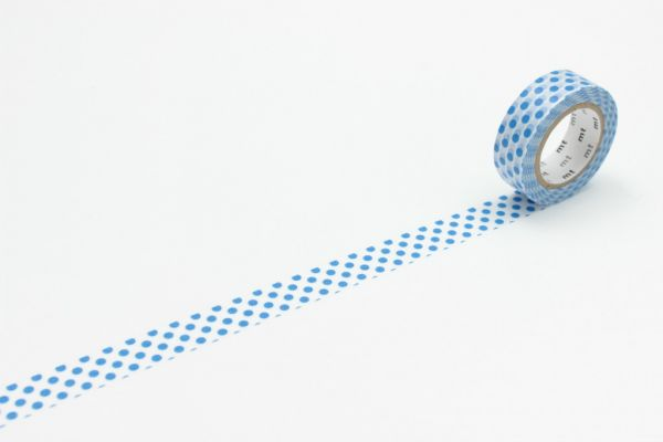 Masking-Tape single, dot blue