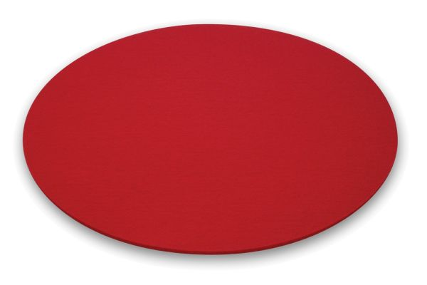 Moree Felt cushion red