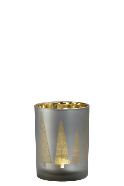 Sompex Awhia Windlicht Vase Tanne - in verschiedenen Größen
