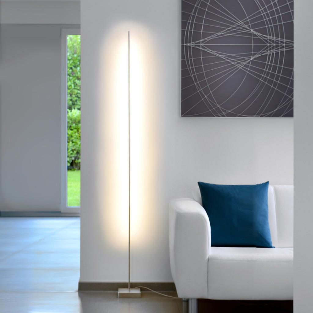 sompex stehleuchte pin mit sensordimmer stehleuchten leuchten sompex shop. Black Bedroom Furniture Sets. Home Design Ideas