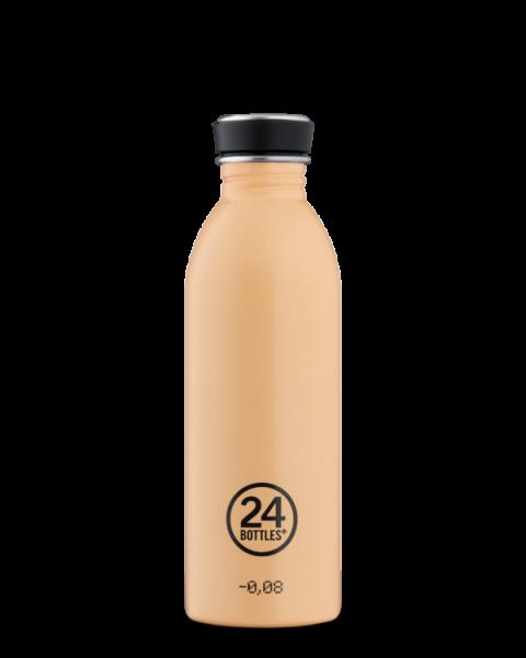 24Bottles - Trinkflasche / URBAN pastel collection PEACH ORANGE