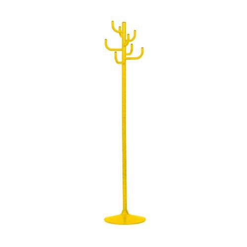 Jan Kurtz Kleiderständer Kaktus, 2-Teilig Stahlrohr Pulverbeschichtet, Gelb Ral 1021