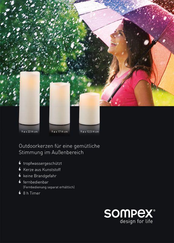 Außenkerzen Led Kerzen Sompex Shop