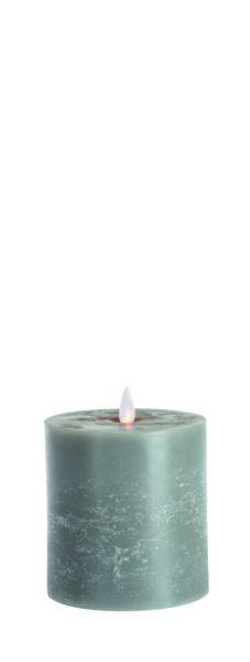 Sompex FLAME LED Echtwachs LED Kerze, grau / flach